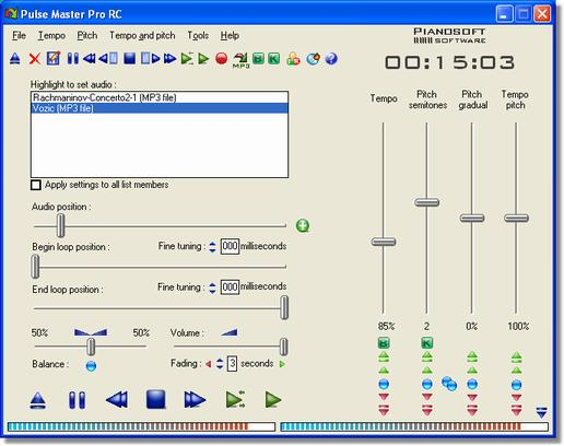 Click to view Pulse Master 6.7 screenshot